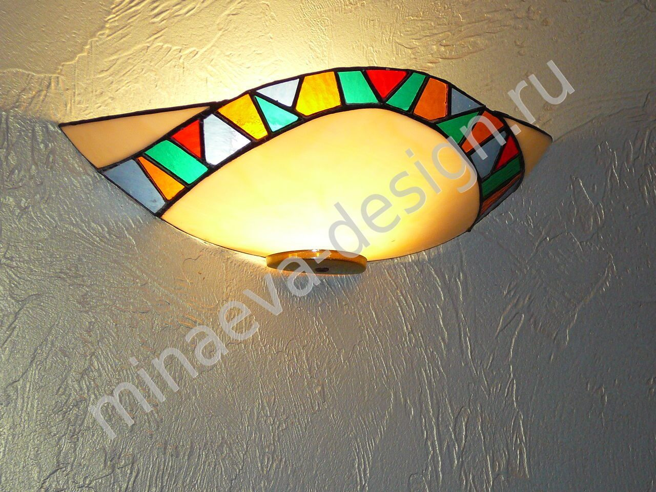 Stained glass lamps - L38