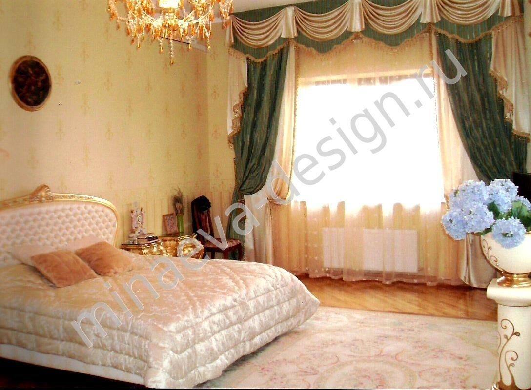 шторы для спальни в краснодаре классический стиль классический