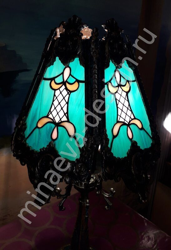 Stained glass lamps - L61