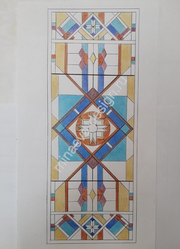 Buy stained glass - 120
