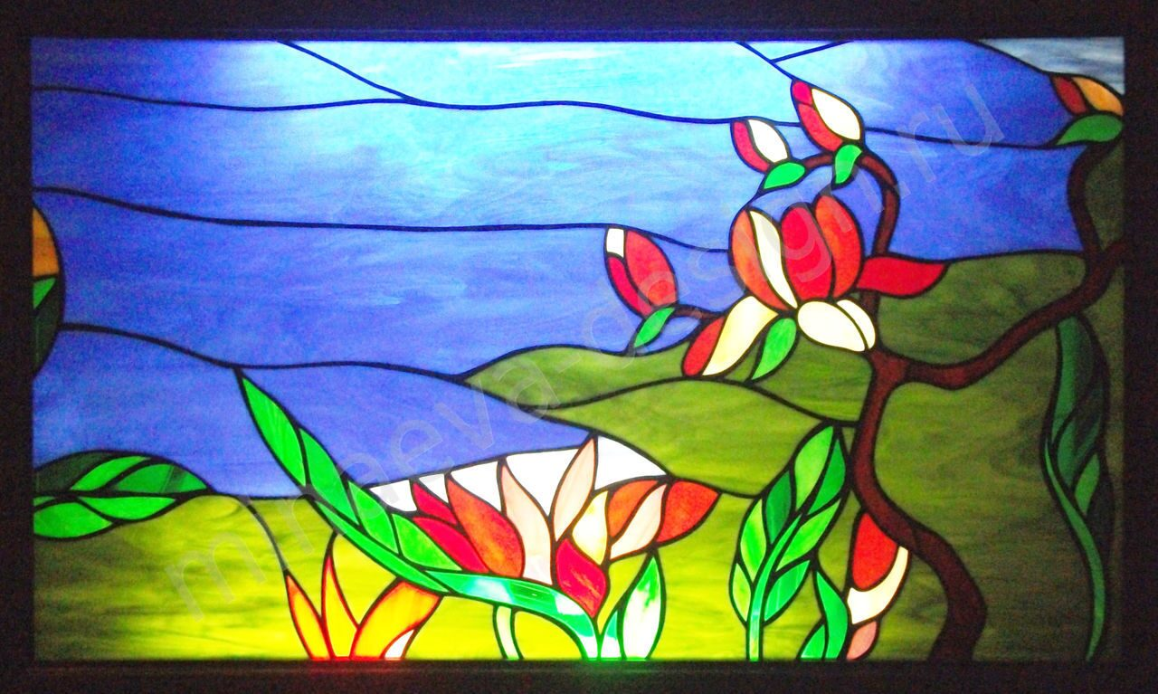 Stained glass windows - 104
