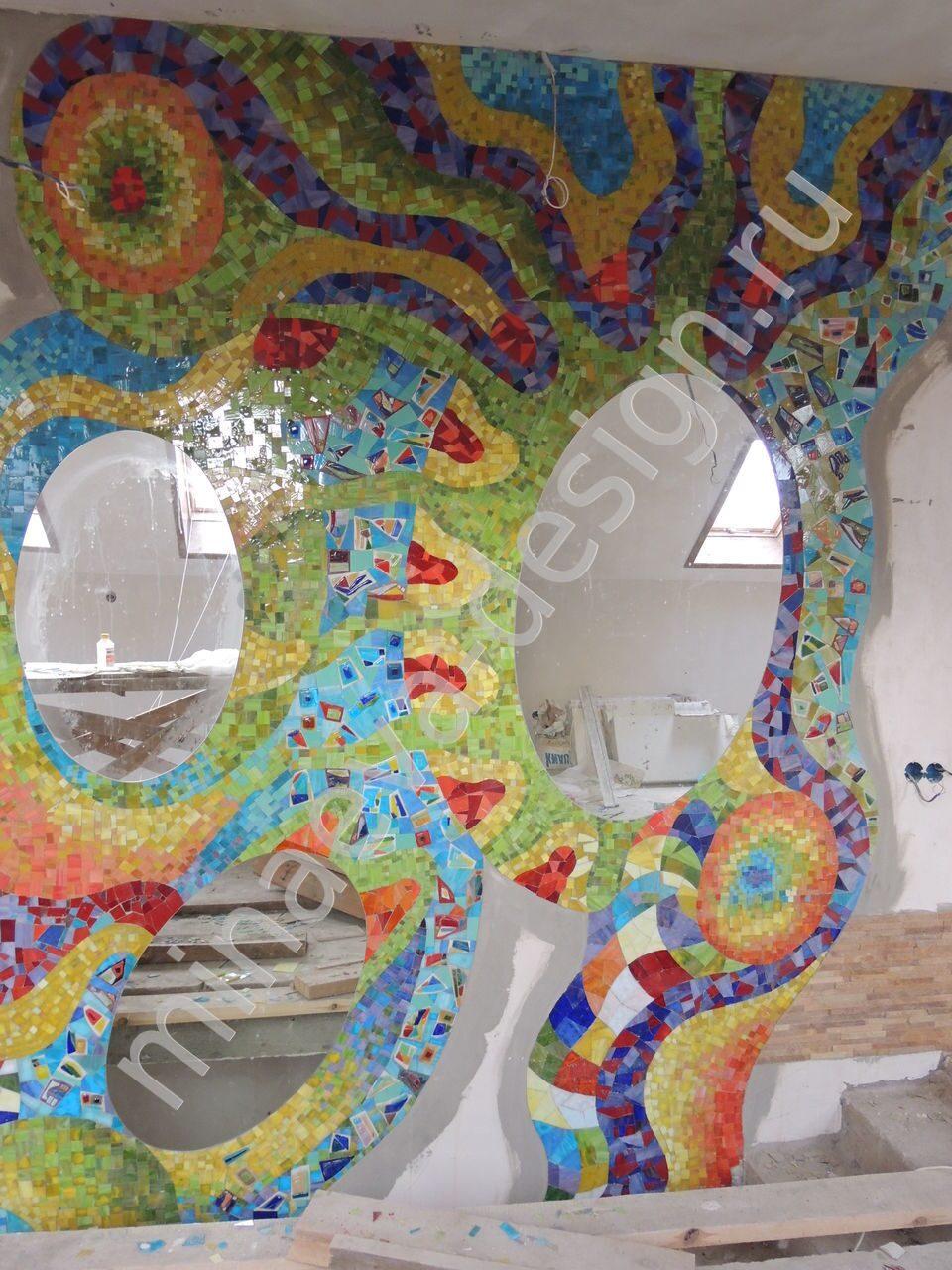 Мозаика своими руками в стиле гауди 3