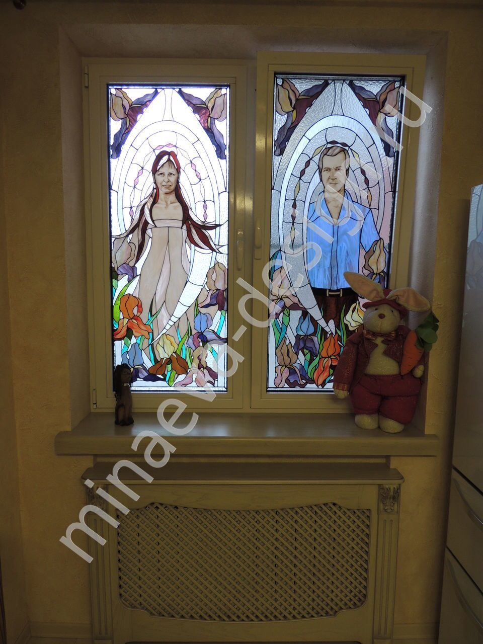 Stained glass windows - 144