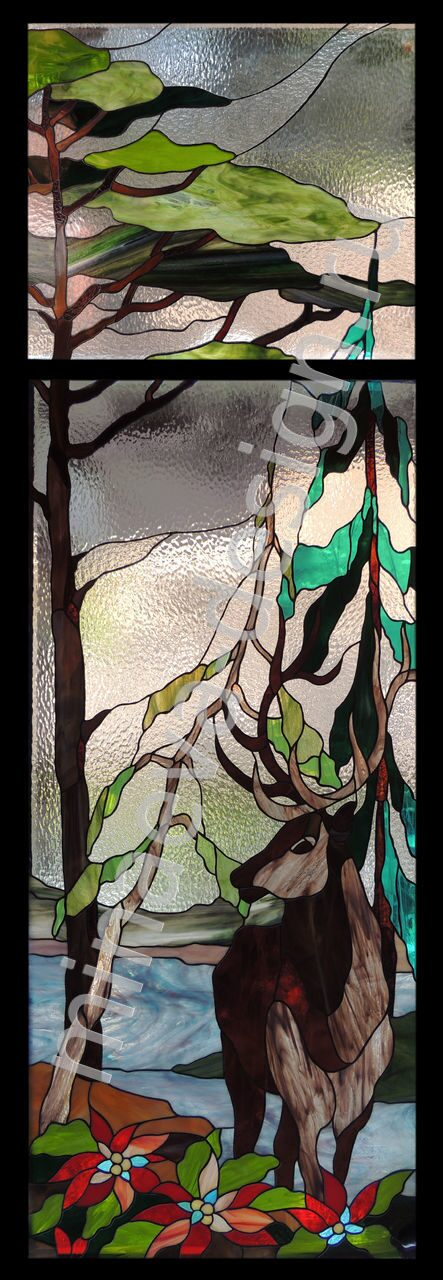 Stained glass windows - 146